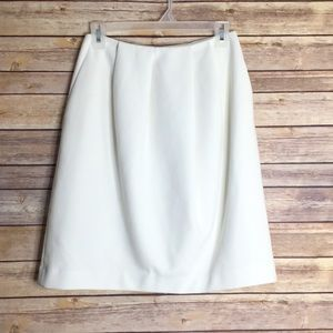 Madewell White Skirt with Pockets